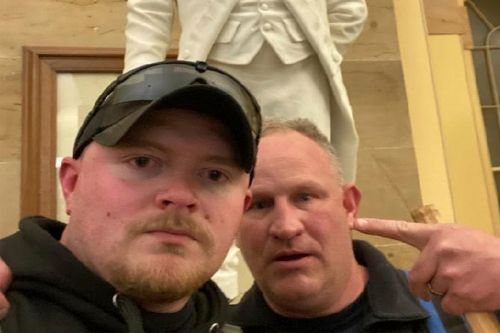 Two Virginia cops charged with storming US Capitol fired from jobs