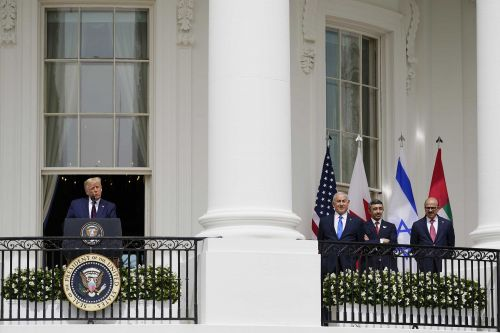 President Trump presides as Israel, 2 Arab states sign historic pacts