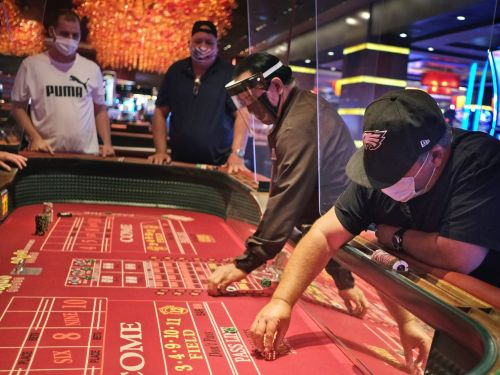 8 of Atlantic City's famous casinos just reopened for the first time since March. These photos show just how different the casino experience is going to be after the pandemic