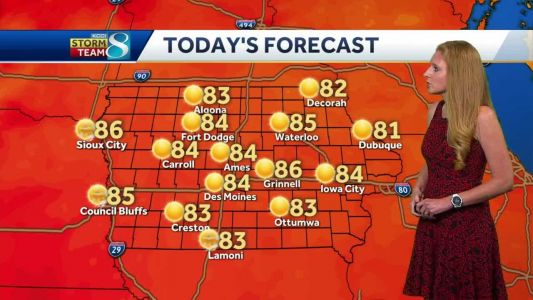 Clear, quiet Tuesday follows Monday storms