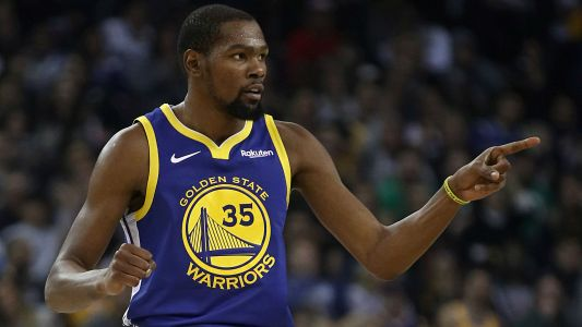 Kevin Durant says he, Warriors teammate Draymond Green haven't resolved issues