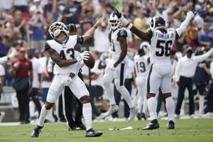 Los Angeles Rams' pass defense off to another strong start