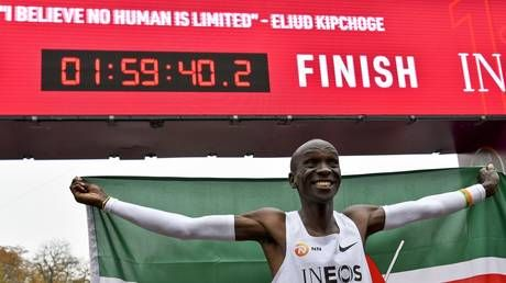 'He didn't even look tired!' Eliud Kipchoge becomes first person to run sub 2-hour marathon