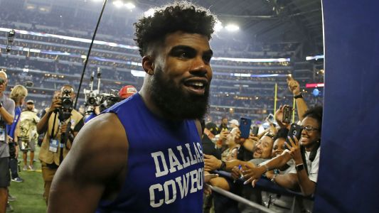 Cowboys' Ezekiel Elliott escapes charges in Las Vegas incident, report says