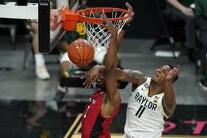 No. 2 Baylor wins delayed opener 112-82 over La-Lafayette
