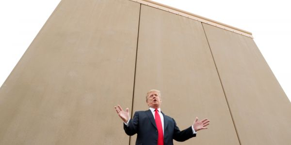 Americans blame Trump for the government shutdown over a border 'crisis' that they don't see, according to polls