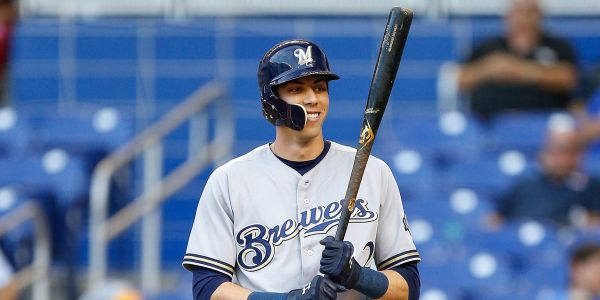 Brewers Christian Yelich hit for historic cycle thanks to teammate's hustle in a blowout