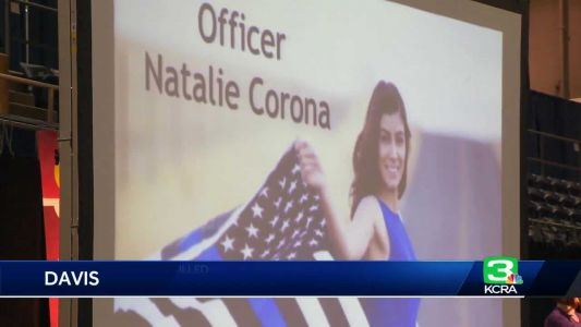 Special Olympics honors fallen Davis police officer