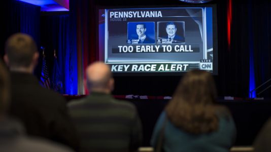 Pennsylvania Special Election Too Close To Call
