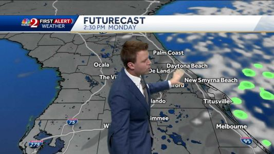 Mostly clear Monday for first day of Fall