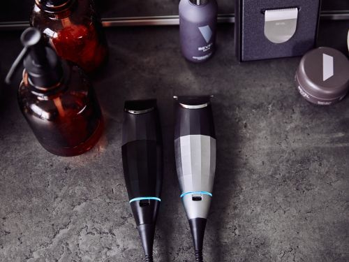 This trimmer was designed for people with coarse hair and sensitive skin - I swear by it for getting clean lines at home, and the barbers I asked to test it were equally impressed