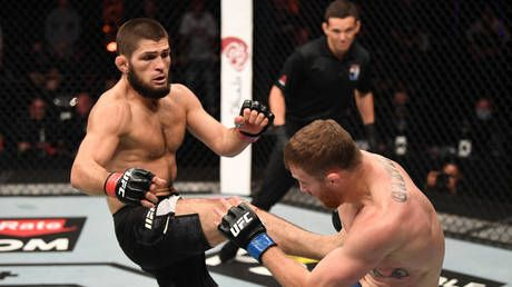 'One of the toughest human beings on the planet': Dana White says Khabib 'suffered BROKEN FOOT' just three weeks before UFC 254