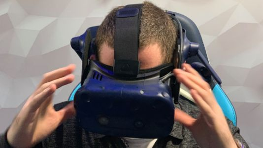 HTC Vive Pro Eye hands-on: Gaze into VR's future with foveated rendering