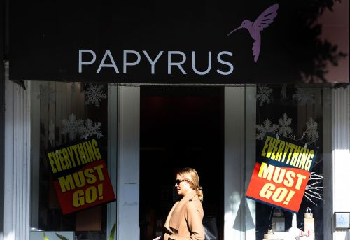 Papyrus closing all stores after parent firm files for bankruptcy