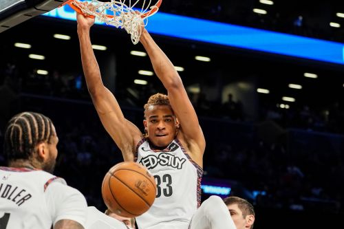 Nic Claxton giving Nets glimpse of future in DeAndre Jordan's absence