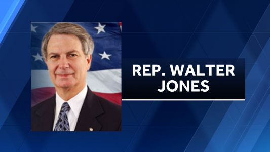 NC Rep. Walter Jones dies at 76