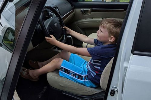 Minnesota boy, 4, takes great-grandfather's car for joyride for candy