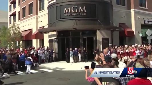 New data shows spike in crime at MGM Springfield casino