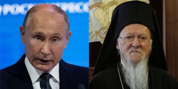 A high-ranking Orthodox priest in Turkey landed a blow against Putin by invoking an obscure and ancient power from 451 AD