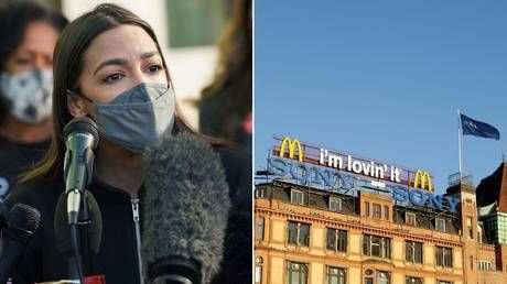 Can we kick out immigrants like Denmark does? Critics snicker after AOC lauds McDonald's workers' wages in European nation