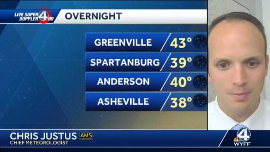 Videocast: Frost possible overnight