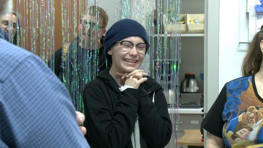 'It made me tear up': Hospital nurses throw surprise party for cancer patient's 18th birthday