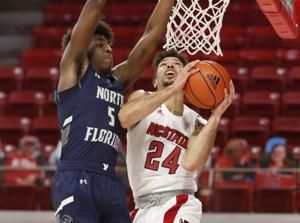 Hellems scores 17 as N.C. State races past N. Florida, 86-51