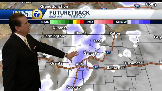 Difficult, slick travel conditions expected Tuesday morning