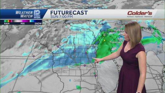 Videocast: Afternoon rain chances Sunday