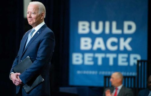 Democrats grapple with pared down Build Back Better agenda
