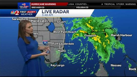 Tropical Storm Isaias: Outer bands beginning to reach Central Florida