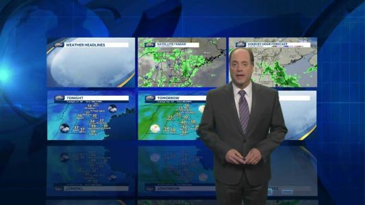Watch: Rain exits, winds diminish