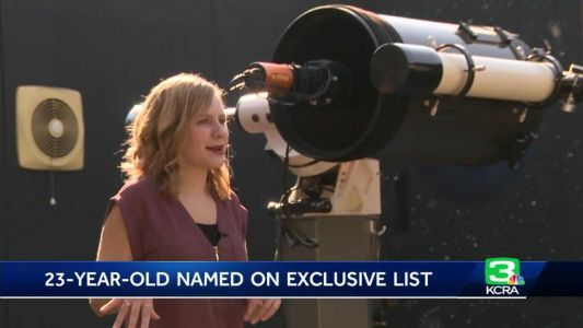 Lifelong 'astronomy moments' inspire young astrophysicist's path
