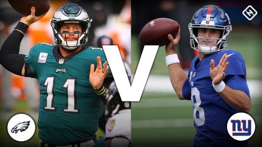 Giants vs. Eagles live score, updates, highlights from 'Thursday Night Football' game