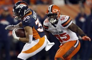 Broncos' Lindsay becomes 1st undrafted offensive Pro Bowler