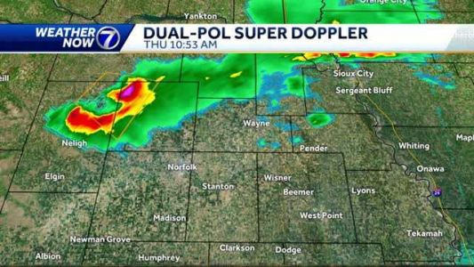 Updating storm chances Thursday afternoon and overnight