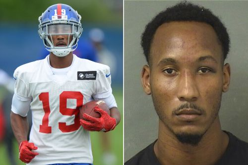 Former Giants receiver Travis Rudolph arrested on first-degree murder charge