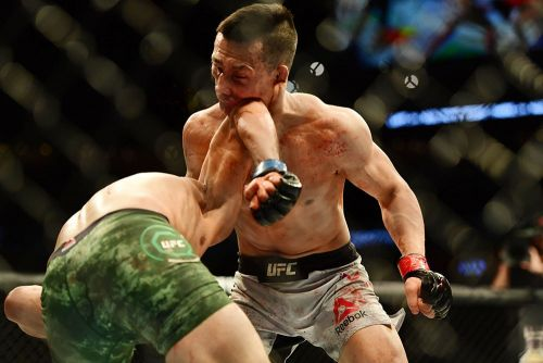 The Break: Baffled by Yair Rodriguez's elbow thing and state of the UFC flyweight division