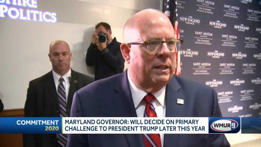 Republican Maryland governor considering primary challenge to Trump