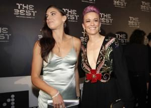 Rapinoe, Messi win FIFA player of the year awards