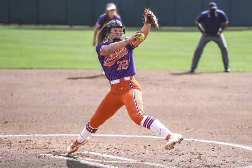 Clemson's Valerie Cagle tosses no-hitter in win over Winthrop