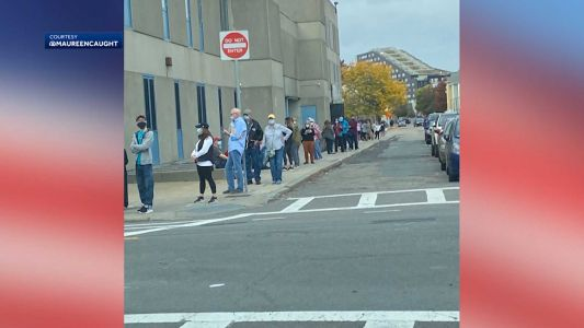 Early voters continue to make strong showing at Massachusetts polls