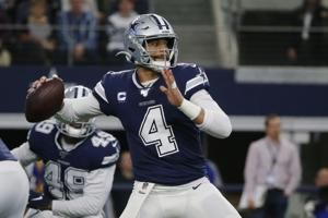 Cowboys' Prescott doesn't get deal to replace franchise tag
