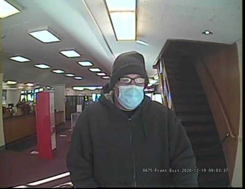 Bank robber demanded money be put in a brown paper bag