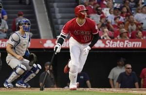 Ohtani, Bour lead Angels to 5-3 win, series sweep of Dodgers
