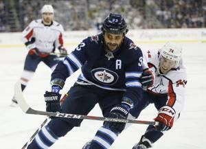 Chiarot scores in 3rd to lead Jets past Capitals 3-1