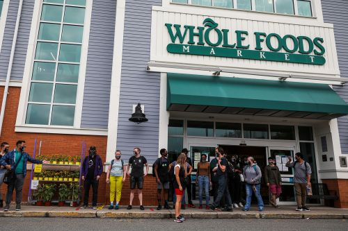 Calls for Whole Foods boycott grow after employees wearing BLM masks sent home