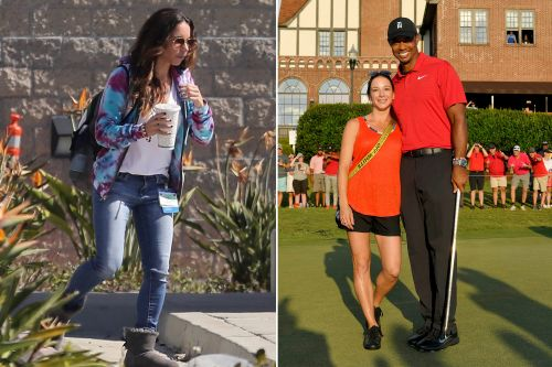 Tiger Woods' girlfriend Erica Herman spotted visiting him at the hospital
