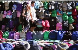 Photos: 5,500 backpacks on the UA Mall