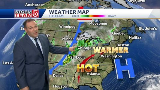 Video: Warm, sunny end to summer